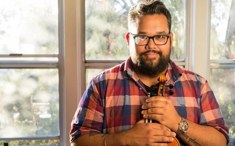 Violinist Vijay Gupta headlines Kenan Institute's Artivate Summit