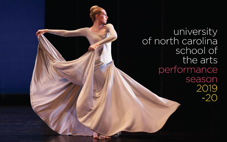Announcing UNCSA's 2019-20 performance season