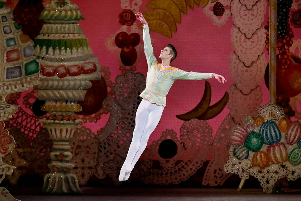 "Russell Janzen will be guest dancer for ""The Nutcracker"" on Dec. 18 and 19"