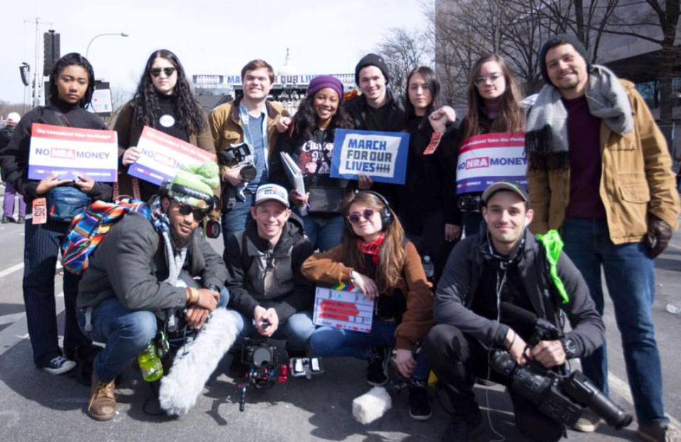No Sanctuary crew at March For Our Lives demonstration.