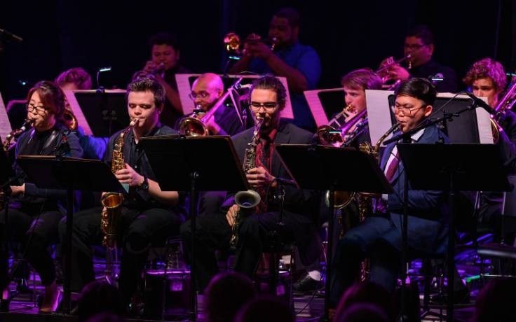 Guest artists from Puerto Rico and Venezuela join UNCSA Jazz Ensemble on Jan. 28