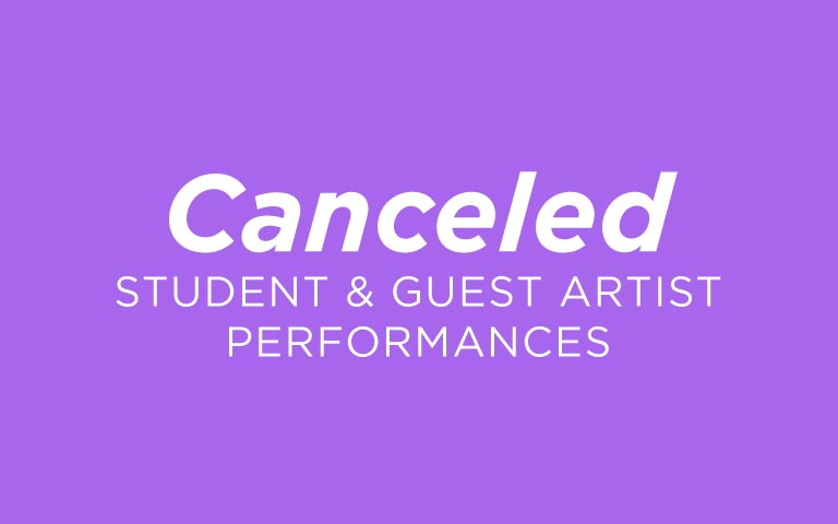 Canceled Performances