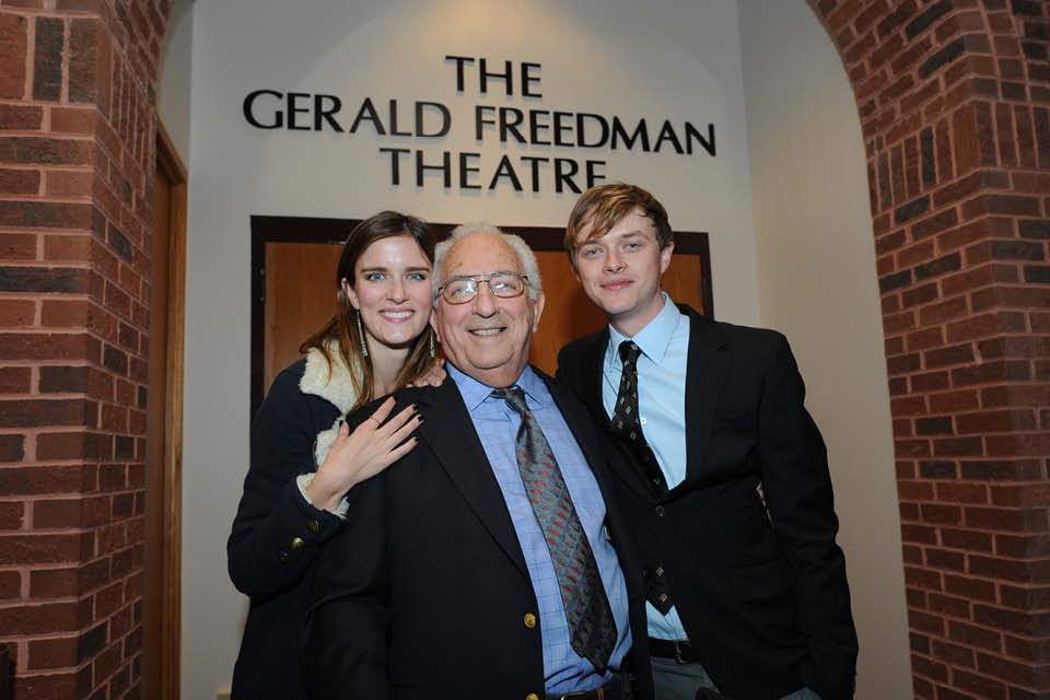 Gerald Freedman with Anna Wood and Dane DeHaan