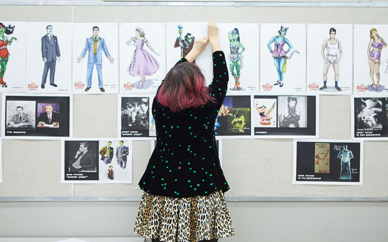 The Hollywood Reporter names UNCSA costume program one of the world's Top 10