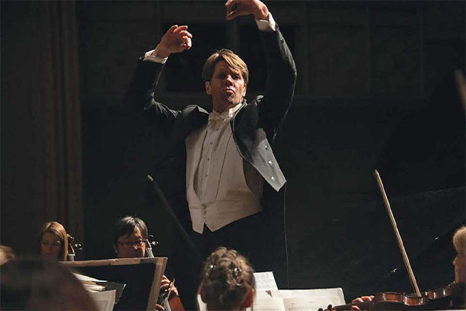 Michael Butterman will conduct the UNCSA Symphony Orchestra on March 26