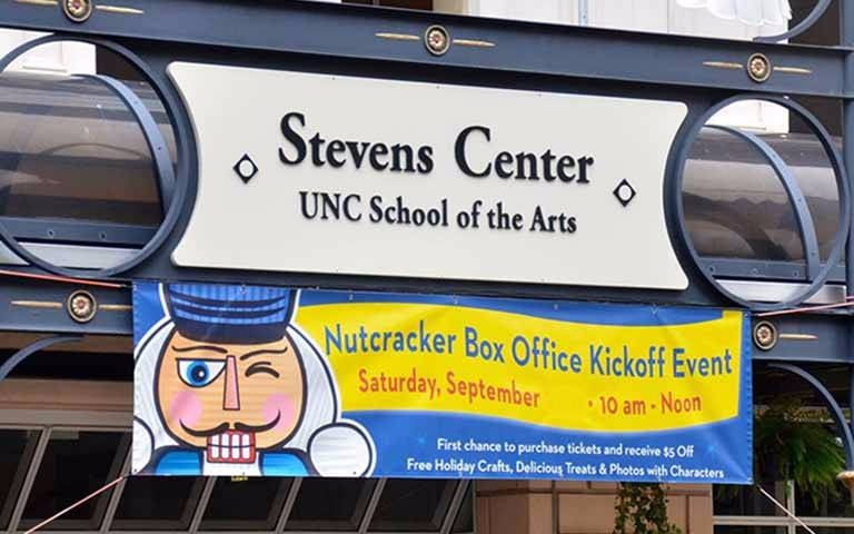 Nutcracker opening banner