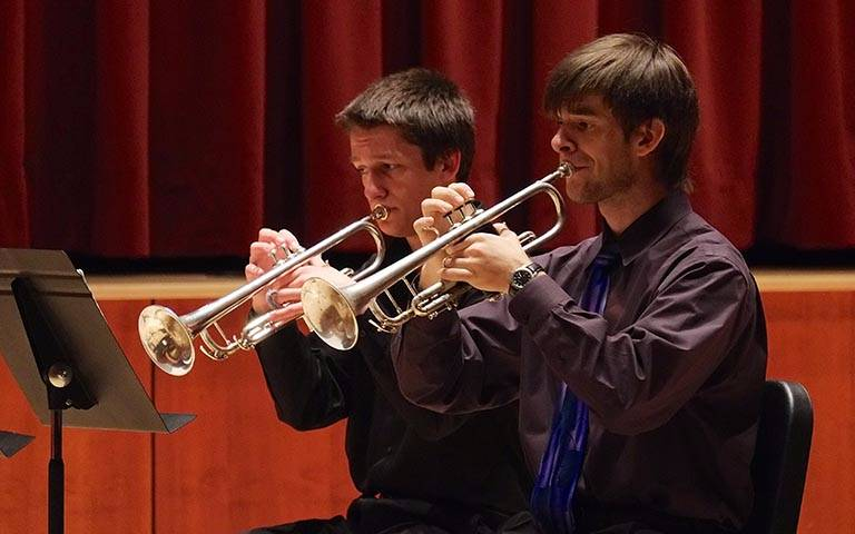 Chrysalis Institute trumpets