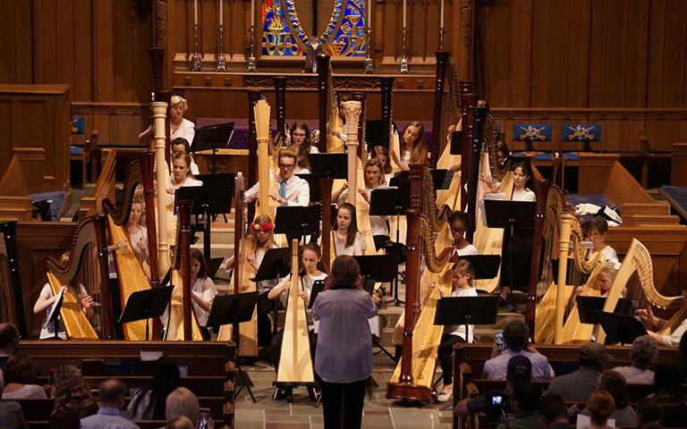 Orchestra of Harps