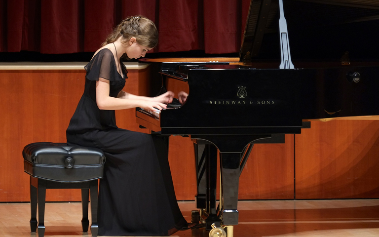 Piano Studio in Recital