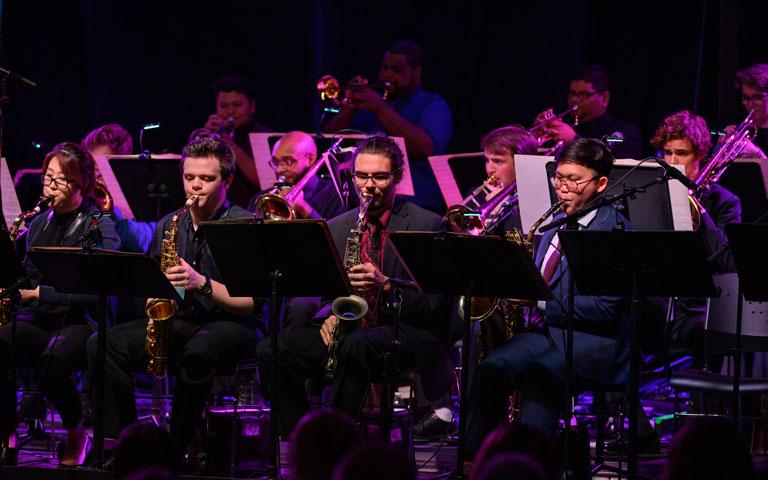 UNCSA Jazz Ensemble with Guest Paul Hanson