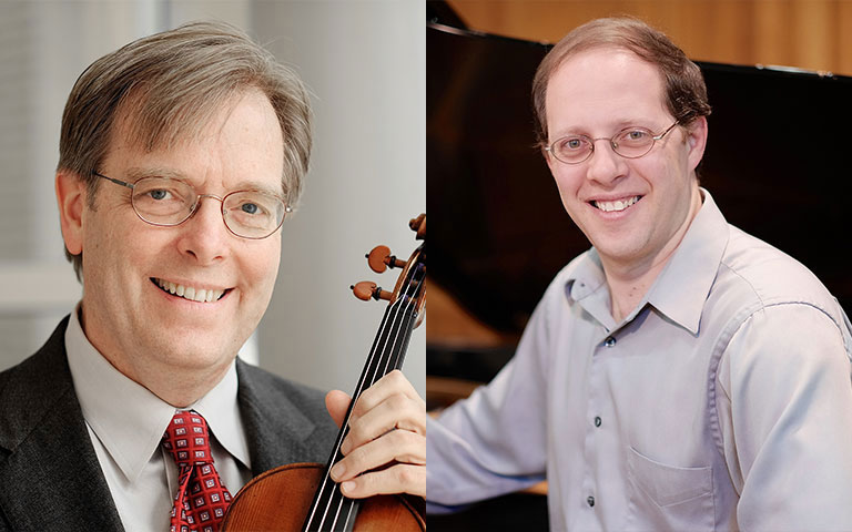 Kevin Lawrence and Dmitri Shteinberg
