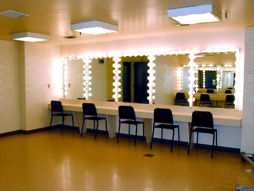 corp dressing room